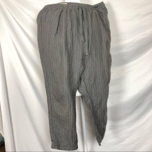 5bed6cdf3a7613 koto Pants - Koto bohemian grey xl striped baggy pants